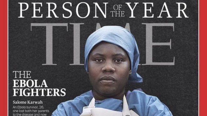 La mujer del año de la revista Time que luchó contra el Ébola y murió